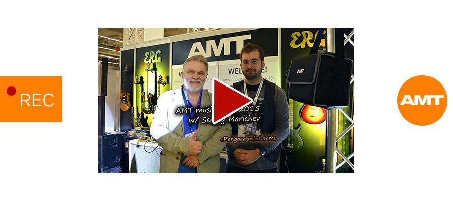 AMT Musikmesse 2015 w/ Sergey Marichev | Pangaea