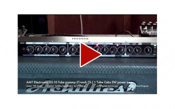 AMT Electronics: SS-10 Tube preamp to Tube Cake JFET 3W power amp