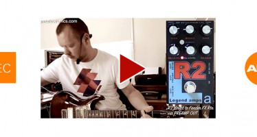 AMT Electronics : R2 Preamp & Effects Pedal