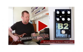 AMT Electronics : B2 Preamp & Effects Pedal