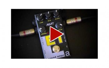 AMT Electronics: E1 to amp (Laney VC50 power amp input) with Stef-T7