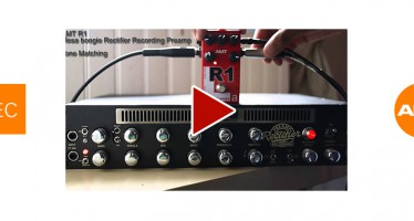 Tone Matching : AMT R1 MesaBoogie / RectoPreamp