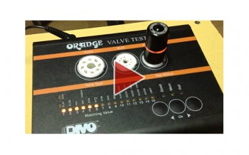 AMT Electronics 12AX7WS Solid State Tube passes the test thru Orange VT1000 Valve tester