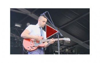 "Using WH-1 during the Live performance  (""Mamas Gun"". Live at Greenroom Festival, 2015)"