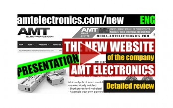 Video presentation of a new AMT website (ENG)
