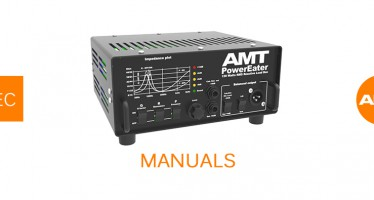 Manuals for AMT «Power Eater» PE-120 Load Box are available