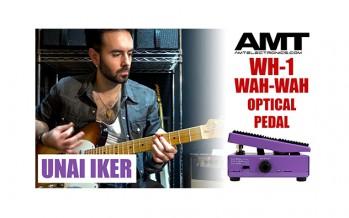 AMT WH-1 wah-wah optical pedal: Demo by Unai Iker