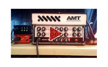 AMT StoneHead Guitar Amp Demo (Not Metal)
