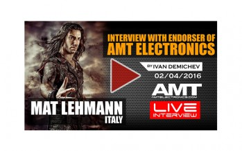 MAT LEHMANN: Interview with Endorser of AMT Electronics