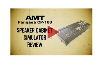 AMT Pangaea CP-100 IR player / guitar speaker cabinet simulator. Full review
