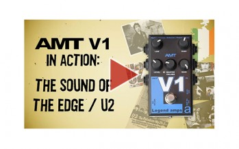 AMT V1 in action: the sound of The Edge / U2