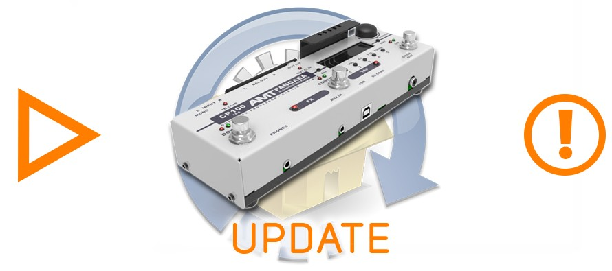 Pangaea CP-100FX-S (stereo version) firmware V1.1.5 (beta) is released