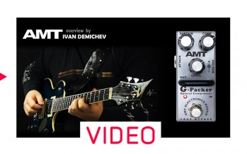 AMT G-Packer optical compressor DEMO (no talking)