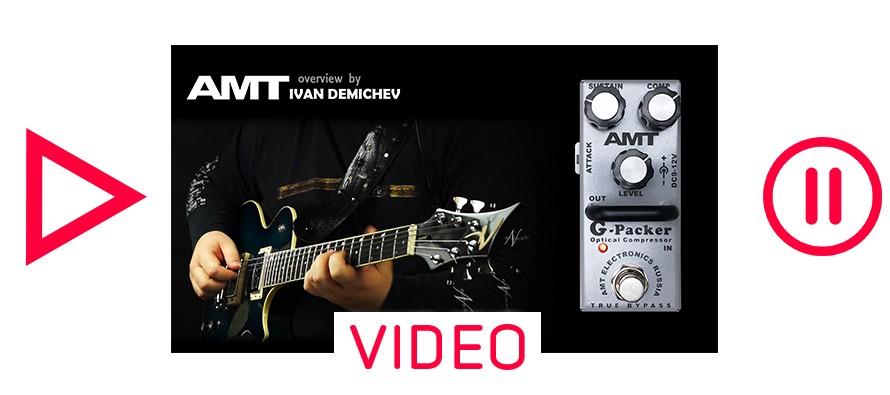 AMT G-Packer optical compressor DEMO (no talking)