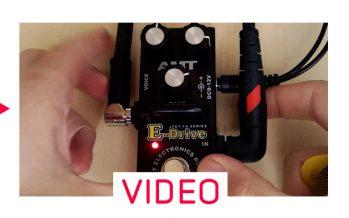 Небольшой обзор педали E-Drive от AMT Electronics