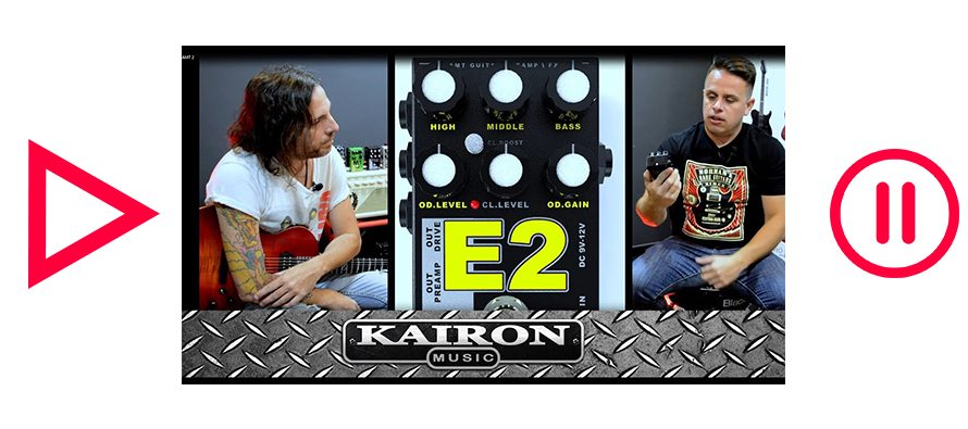 Kairon Music TV, Test AMT Electronics Pedals parte 2 de 3