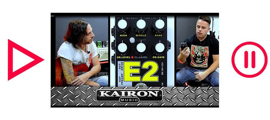 Kairon Music TV, Test AMT Electronics Pedals parte 2 de 3