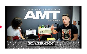 Kairon Music TV, Test AMT Electronics Pedals parte 3 de 3