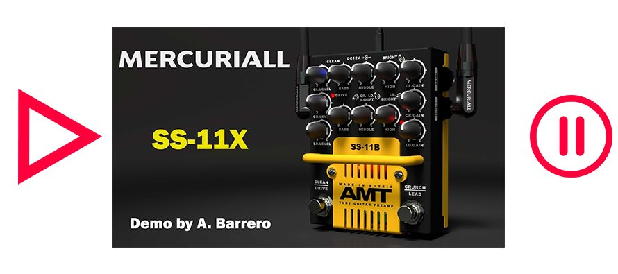 Mercuriall SS-11X – Demo by A. Barrero (No Metal Music)