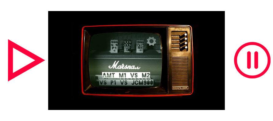 AMT M1 vs M2 vs P1 vs Marshall JCM900 SL-X