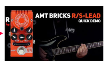 AMT Bricks R/S-Lead tube preamp DEMO (no talking)