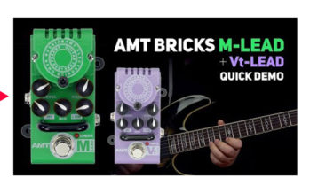 AMT Bricks M-Lead + Vt-Lead tube preamps DEMO (no talking)