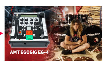 AMT EgoGig EG-4 with Fabio Alessandrini from Annihilator