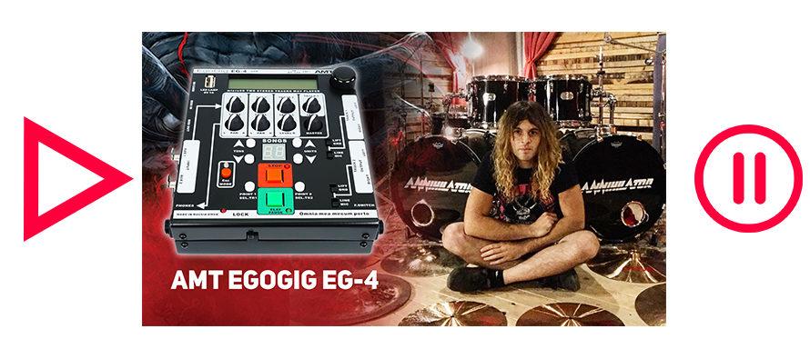 AMT EgoGig EG-4 with Fabio Alessandrini from Annihilator