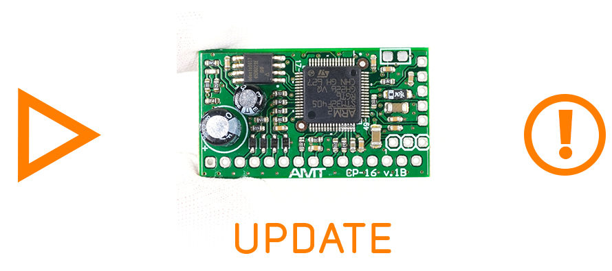 AMT Pangaea CP-16 (CP-16A-6F22): new firmware is released